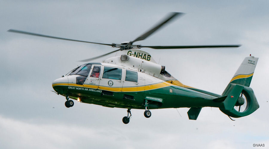 The Great North Air Ambulance Service (GNAAS) has submitted plans for an upgrade to its Cumbrian airbase at Langwathby, near Penrith. They currently operates 3 AS365