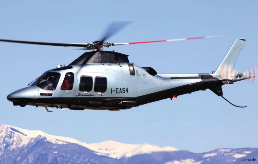 AgustaWestland AW109SP GrandNew c/n 22300