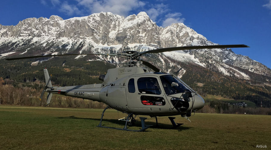 Helicopter Travel Munich expanding current fleet to 25 Airbus helicopters with the signing for 4 new AS350B3e/H125