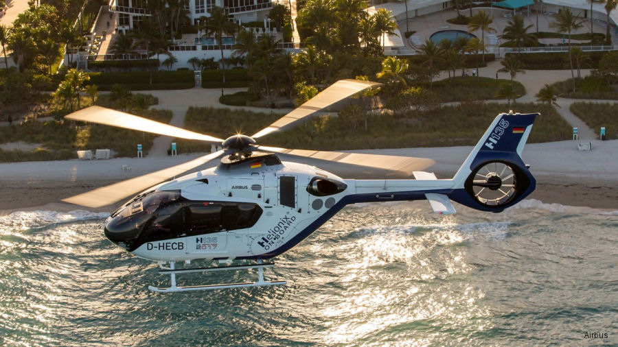 Airbus EC135T3/P3 (H135) equipped with the Helionix avionics suite received FAA Certification. Global launch customer was UK MoD and first American will be STAT Medevac
