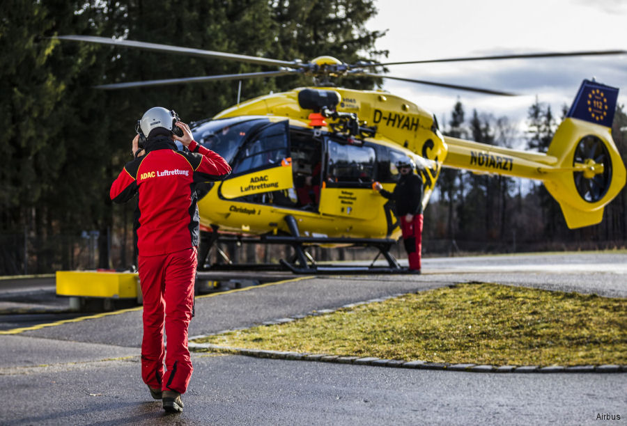 Airbus engineer Rupert Gleissl in his free time rescues people in Germany s Bavarian Alps, often using ADAC' H145 / EC145T2 helicopter.