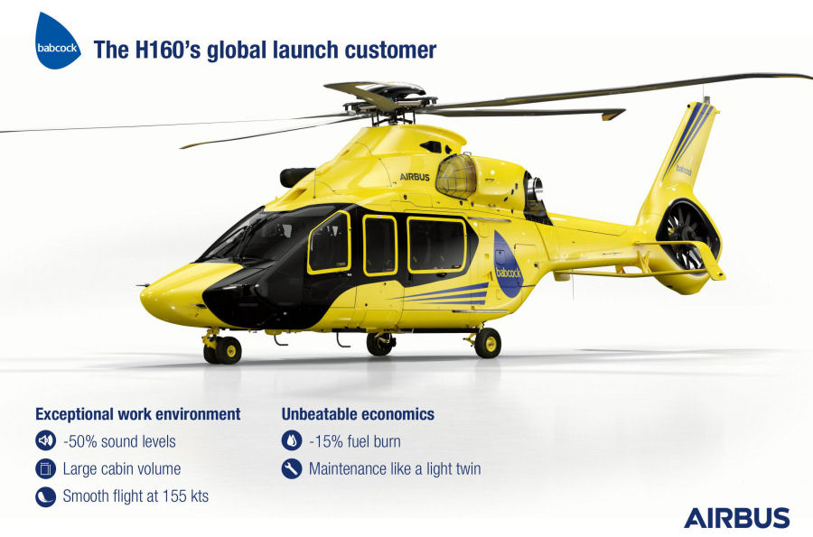 Babcock set to become the global launch customer for the H160