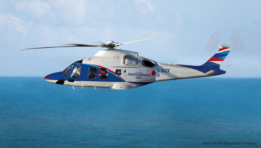 The Isles of Scilly Steamship Group in partnership with Specialist Aviation Services (SAS) launched Island Helicopters to operate an AW169 from Land's End Airport