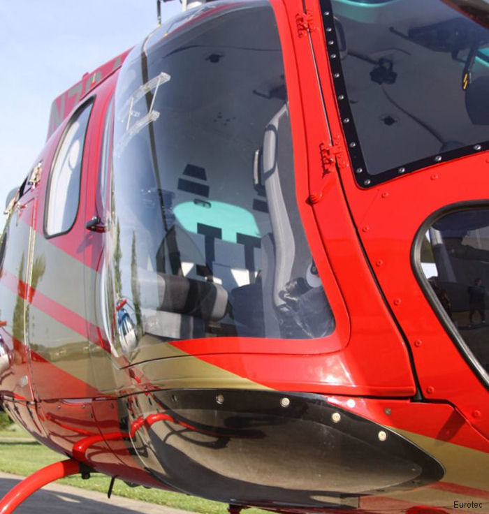 EuroTec Vertical Flight Solutions from Kansas completed the first North American install of the Maximum Pilot View Kit (MPVK) from Swiss Rotor Solutions in an AS350/H125 helicopter