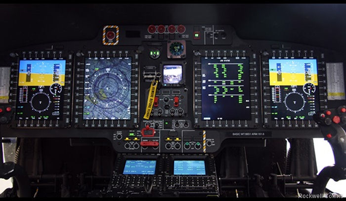By the end of 2019, US Coast Guard Dolphin fleet to start getting upgraded to MH-65E type with a new avionics CAAS architecture from Rockwell Collins similar as of the MH-60T