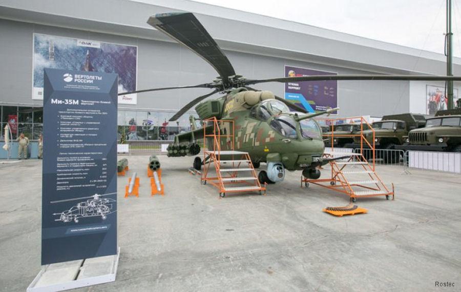 Resultado de imagen para Mi-35 Modernizados en la Expo Army-2018