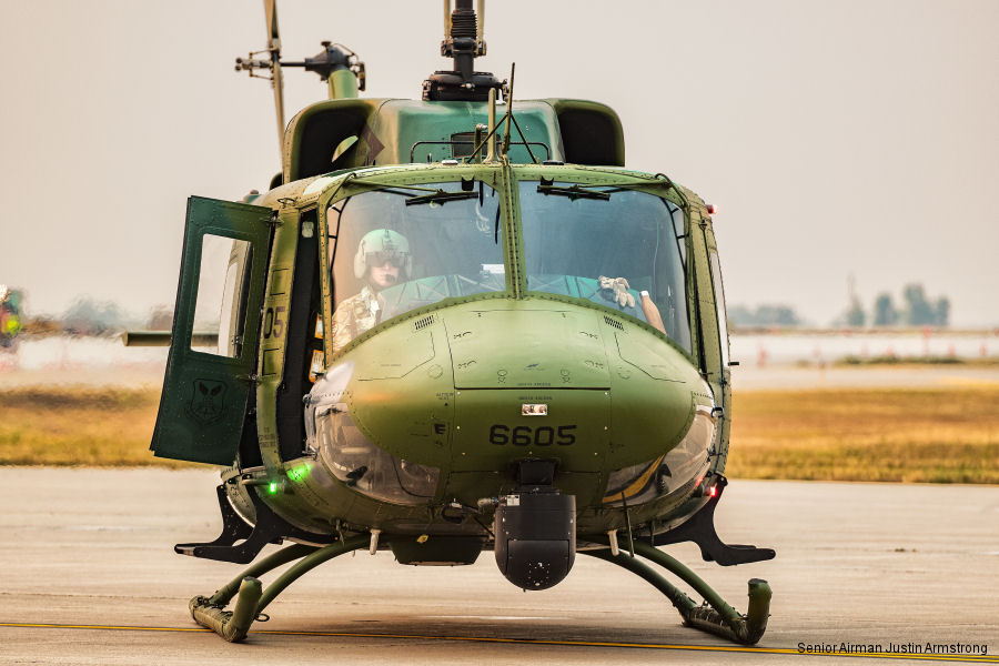 "The UH-1N Iroquois, best known as the ""Huey"", is the 54th Helicopter Squadron's workhorse at Minot Air Force Base, North Dakota. First introduced by the Air force in 1970 will serve past 2020"