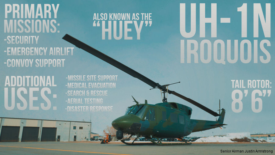 UH-1N, Minot AFB Workhorse