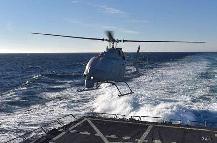 Systel Inc was selected by US Navy Naval Air Systems Command (NAVAIR) to support the MQ-8C Fire Scout drone program with rugged high-density computing servers