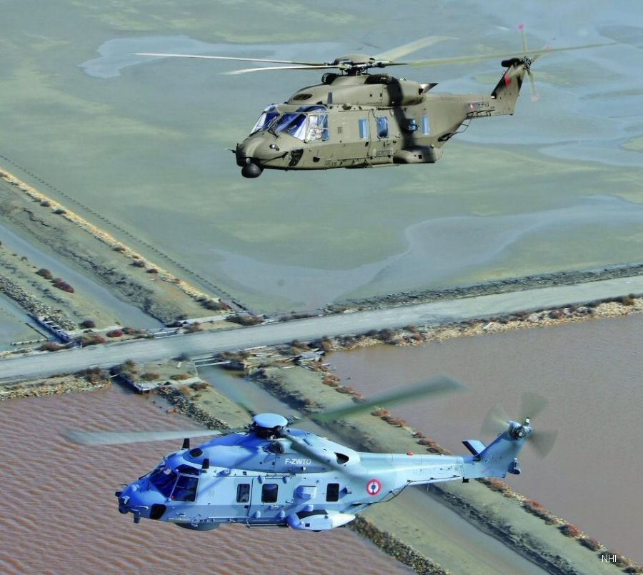Qatar Ordered 28 NH90 and 16 H125