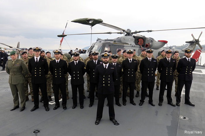 Two Royal Navy Wildcats from 847 Naval Air Squadron will deploy for 5 months aboard the French Navy s assault carrier Dixmude to the Pacific in her premiere annual amphibious Exercise Jeanne d Arc