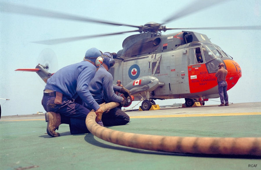 Canadian Sea King Going Out with Style