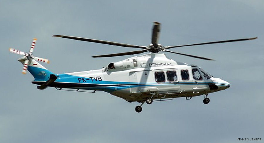 Travira Air ordered two AW139 for offshore operations. NUH ordered two AW119Kx for firefighting and an undisclosed operator signed for the first two AW169 in country