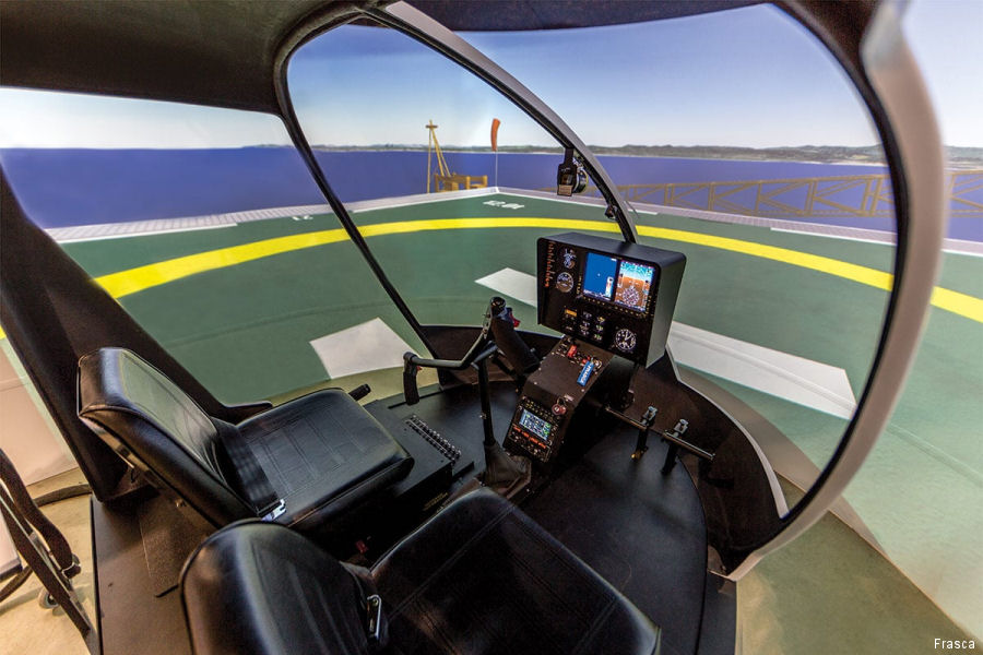 Sichuan Fan-Mei Aviation Industry Co Ltd from China ordered a Robinson R44 CAAC Level 5 simulator from Frasca International