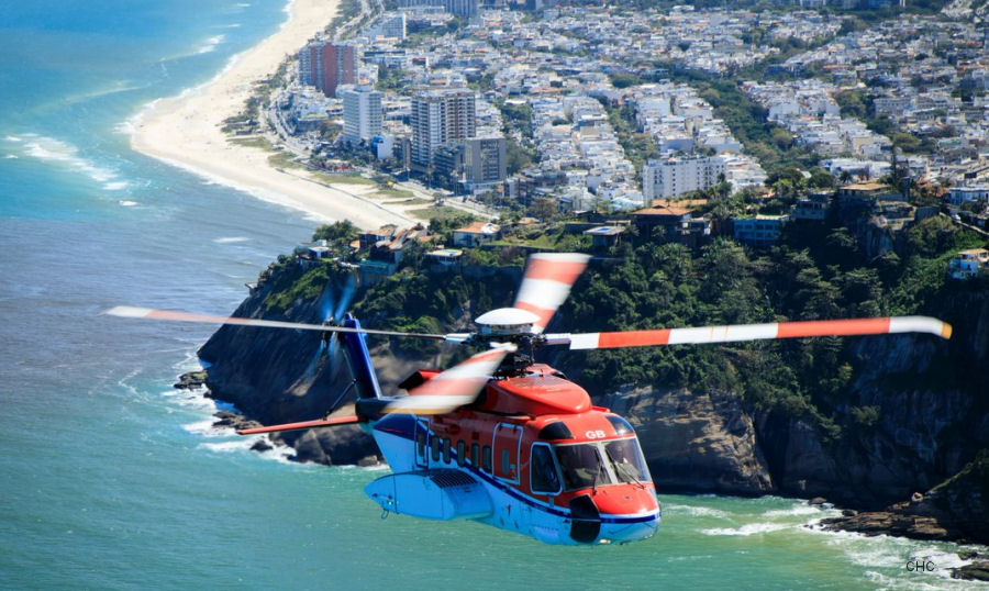 Energy Oil Company Contract for CHC Brazil S-92