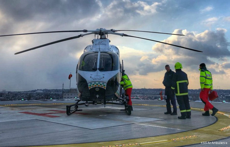 The Royal Sussex County Hospital (RSCH) received a £650,000 donation from the HELP Appeal to incorporate a state of the art fire suppression system for the hospital's new helipad
