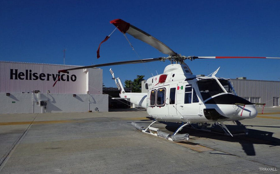 Heliservicio, one of Mexico's largest helicopter operators, selected the TRAXXALL Technologies' aircraft maintenance tracking and inventory management system