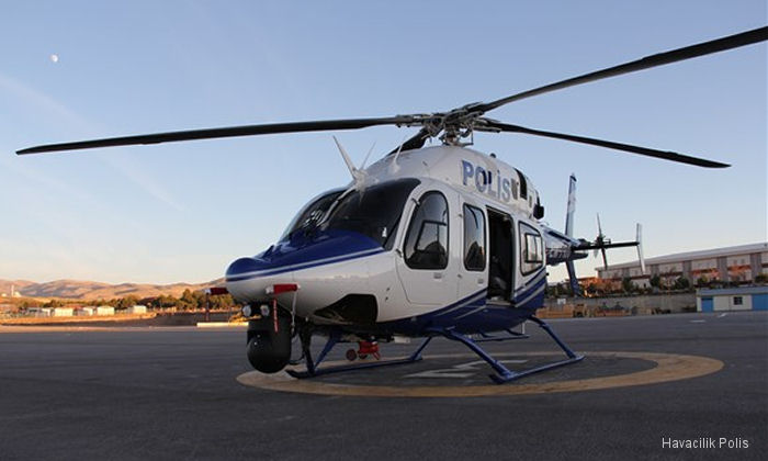 Palm Beach Helicopters in Florida renewed contract first signed in 2007 with the Turkish National Police to train helicopter pilots