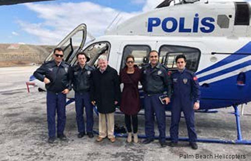 Turkish Police Bell 429 Training in Palm Beach