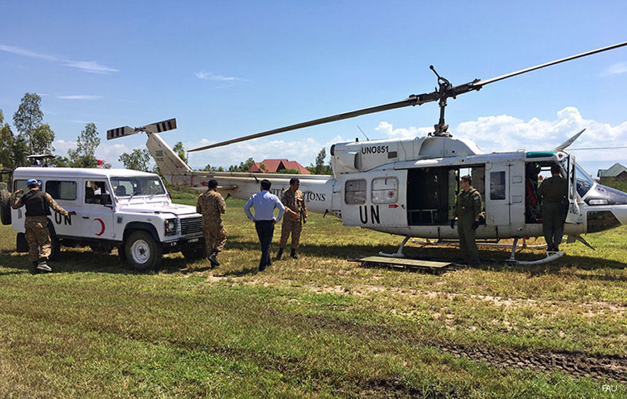 A member of  Doctors Without Borders  in the Congo Democratic Republic suffered a heart attack and was evacuated by Uruguayan peacekeepers taking part of United Nations MONUSCO Mission