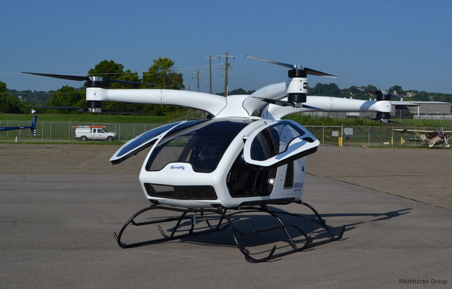 Workhorse Group Selling SureFly eVTOL Division