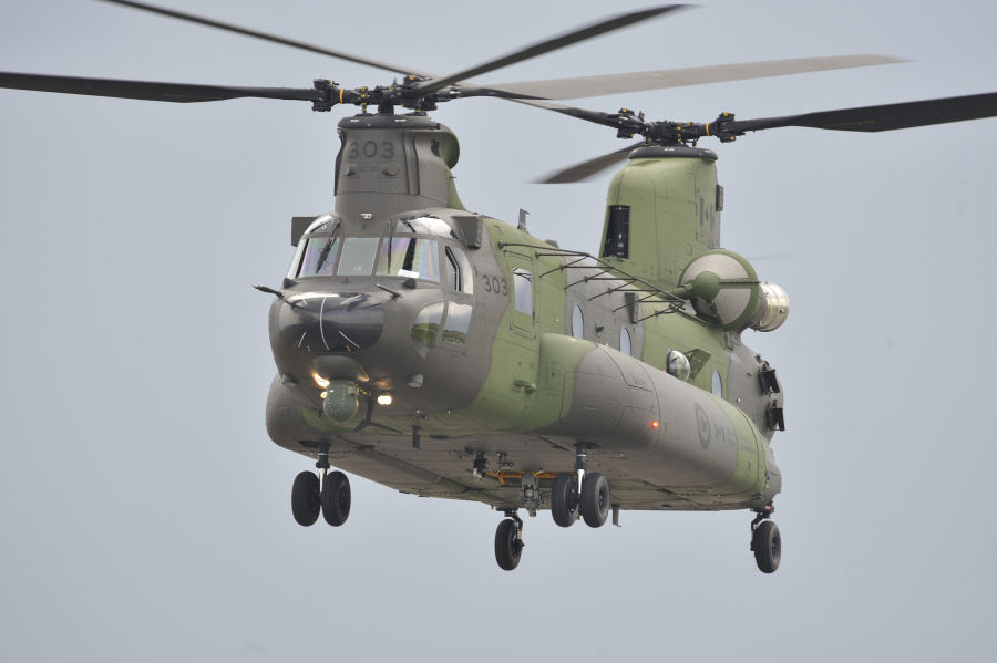 Computer Based Training for Canadian Chinook