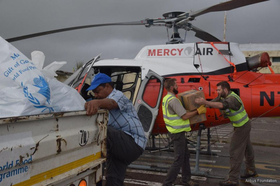 Cyclone Idai Relief Flights in Mozambique