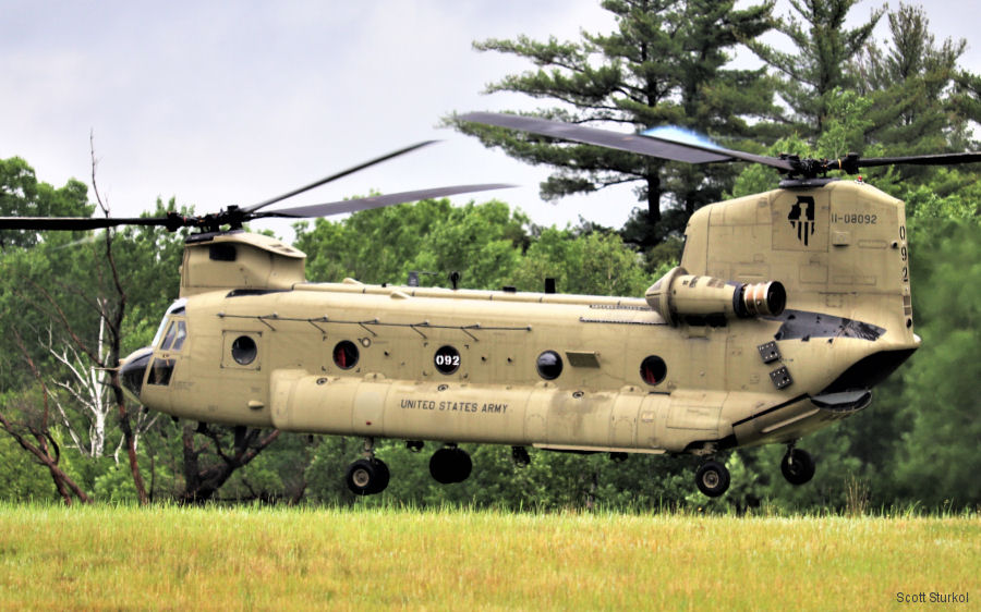 Boeing CH-47F Chinook news