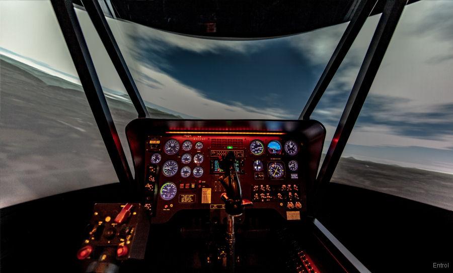 K-MAX Full Flight Simulator by Entrol