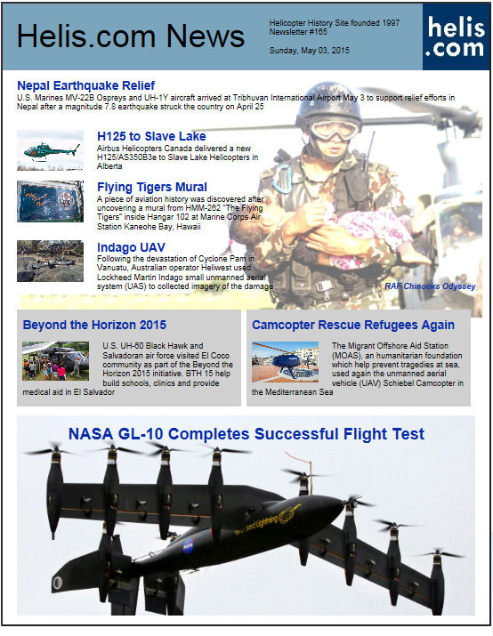 Helicopter News May 03, 2015 by Helis.com