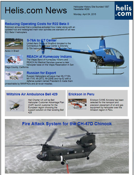 Helicopter News April 04, 2016 by Helis.com