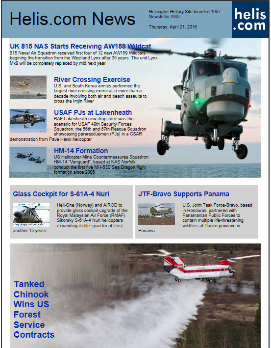 Helicopter News April 21, 2016 by Helis.com