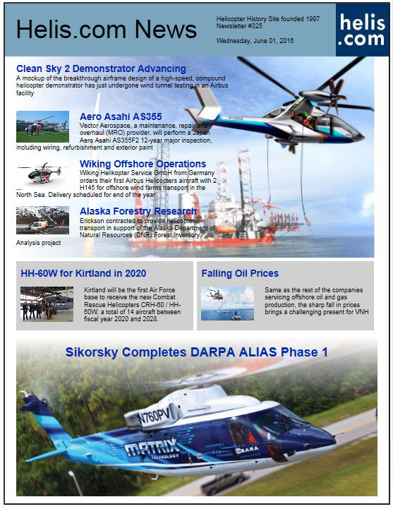 Helicopter News June 01, 2016 by Helis.com