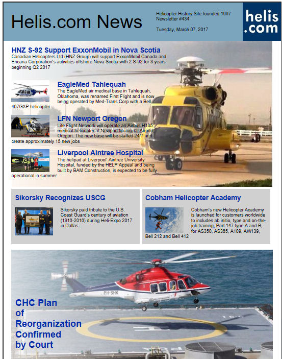 Helicopter News March 07, 2017 by Helis.com
