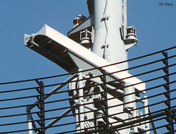 Naval Radar surface search radar AN/SPS-55