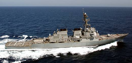 Guided-Missile Destroyer Arleigh Burke class
