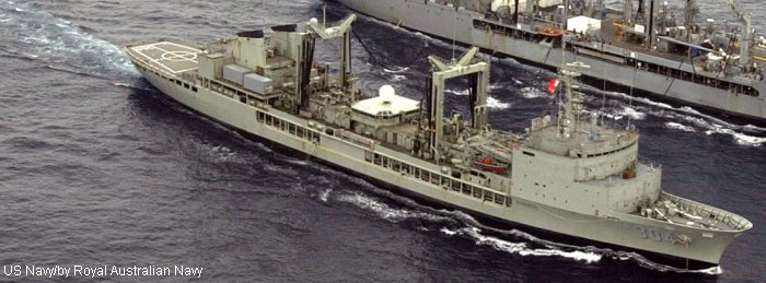 Support Ship Durance class