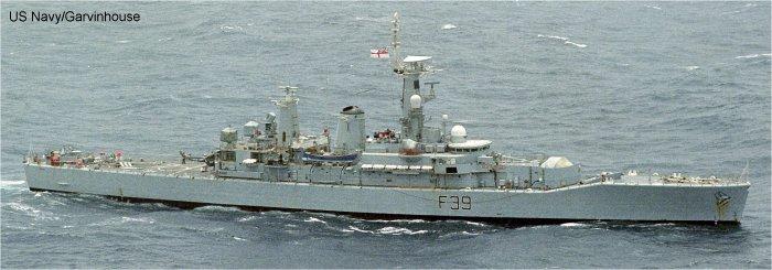 HMS Ajax F114