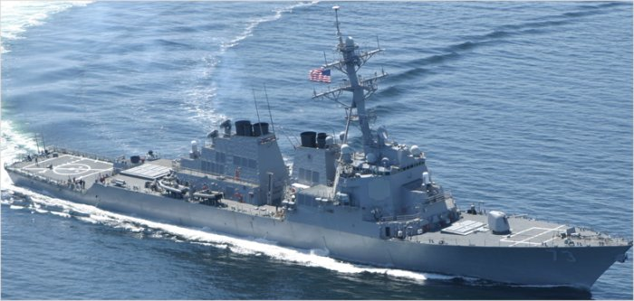 Guided-Missile Destroyer Arleigh Burke Flight II class