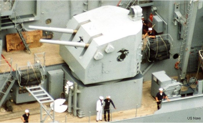 Naval Gun Mark 28 5/38 inch (twin 127mm)