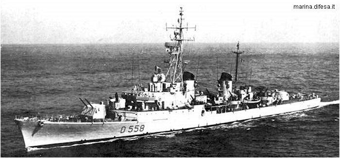 Destroyer Impetuoso class