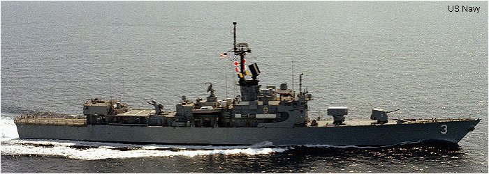 Guided-Missile Frigate Brooke class