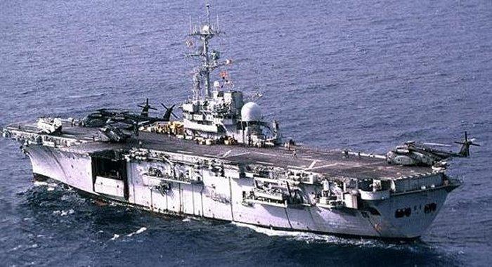 Iwo Jima Class Helicopter Database