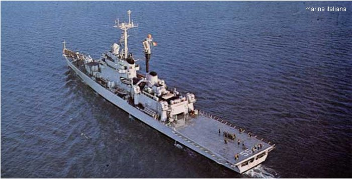 Guided-Missile Cruiser Andrea Doria class