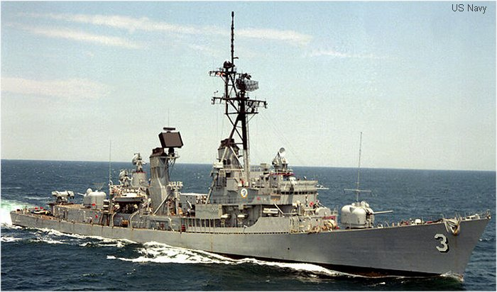 Guided-Missile Destroyer Charles F. Adams class