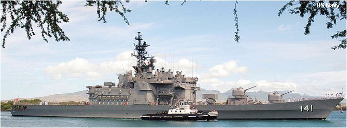 Helicopter Carrier Haruna class