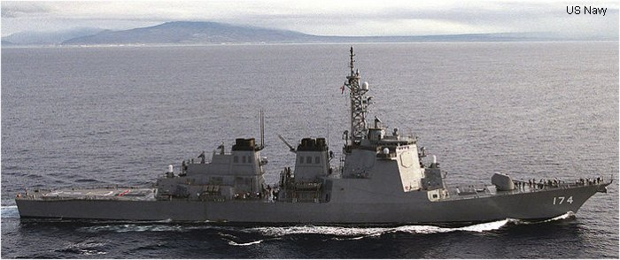 Guided-Missile Destroyer Kongo class