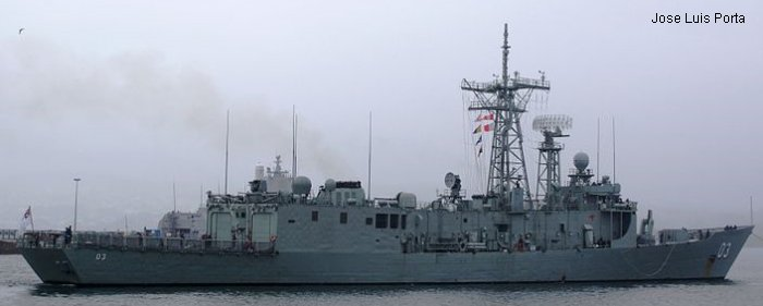 Guided-Missile Frigate Adelaide class