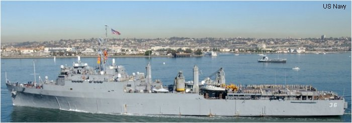 Landing Ship/Platform Dock Anchorage class