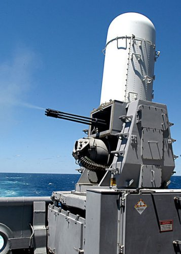 Close-In Weapon System CIWS Phalanx 20 mm